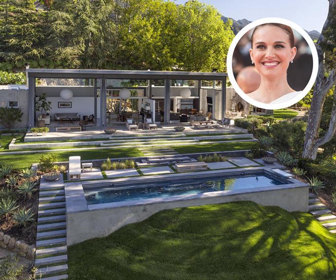 Natalie Portman Montecito house
