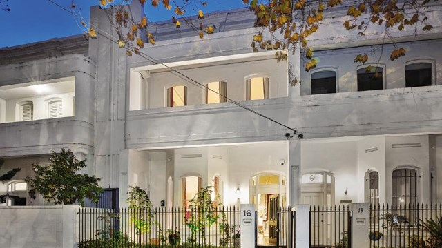 "Alannah Hill described the interior of her St Kilda terrace house as a 'mini Versailles'."" Image courtesy of [Realestate.com.au](https://www.realestate.com.au/news/melbourne-fashion-designer-alannah-hill-to-sell-her-mini-versailles-in-st-kilda-west/