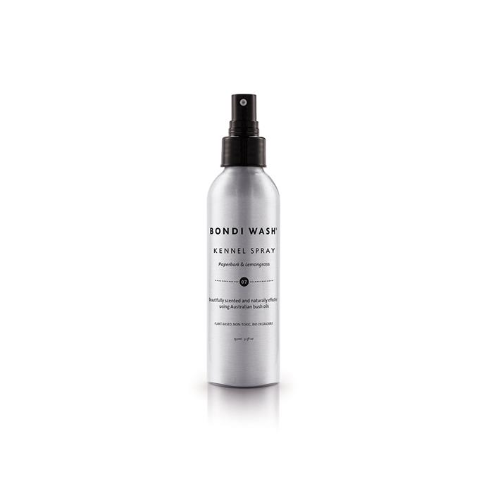 Bondi Wash **kennel spray** $15/ 50ml, from Natural Supply Co.