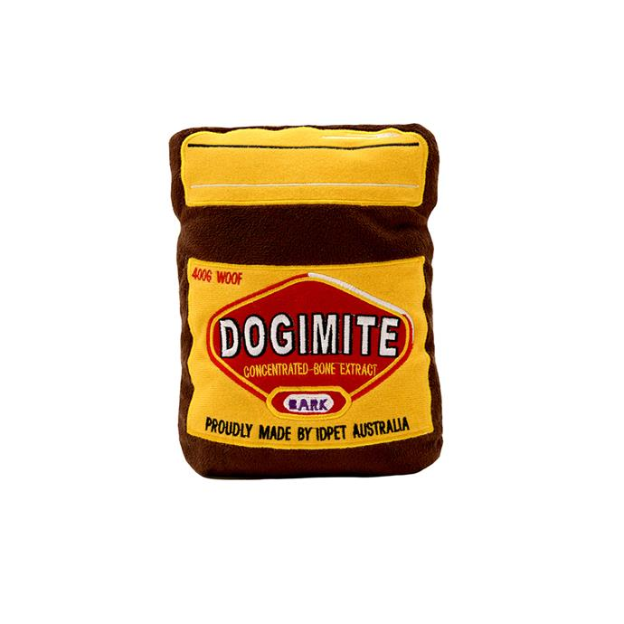 IDPET 'Dogimite' **dog toy**, $16.95, from Miss Drew's Dog Café.