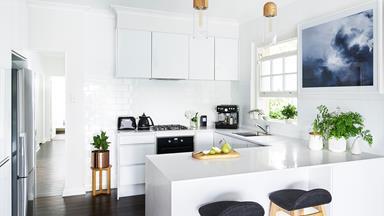 White kitchen renovation by Freedom Kitchens