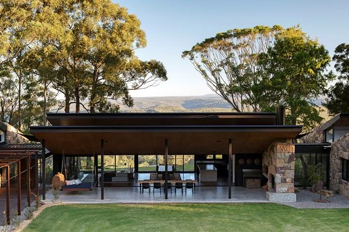"""The pod-style design was changed to make it easy to expand the living areas to accommodate guests but also to make it [efficient to heat](http://www.homestolove.com.au/smart-heating-solutions-3764