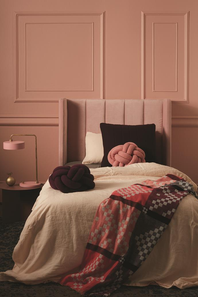 Incy Interiors *Sybilla* bed head.