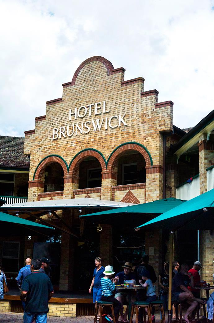 A classic Deco building, The Hotel Brunswick dates back to 1940. There has been a pub on this spot since 1884.