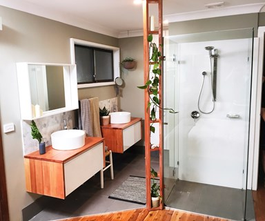 Before and after: hotel-style ensuite