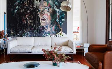 9 beautiful art-filled living rooms to inspire
