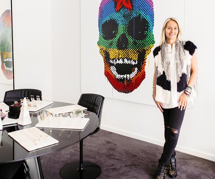 Jewellery designer Susannah Fairley