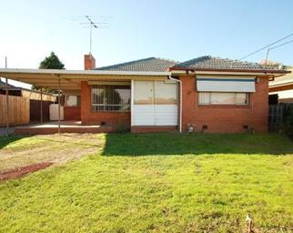 red brick suburban Melbourne home
