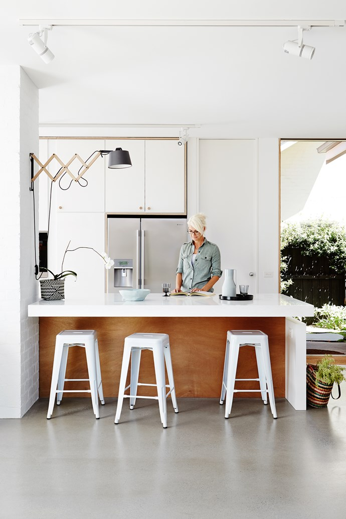 Oodles of storage and a butler's pantry are a dream come true for keen cook Andrea.