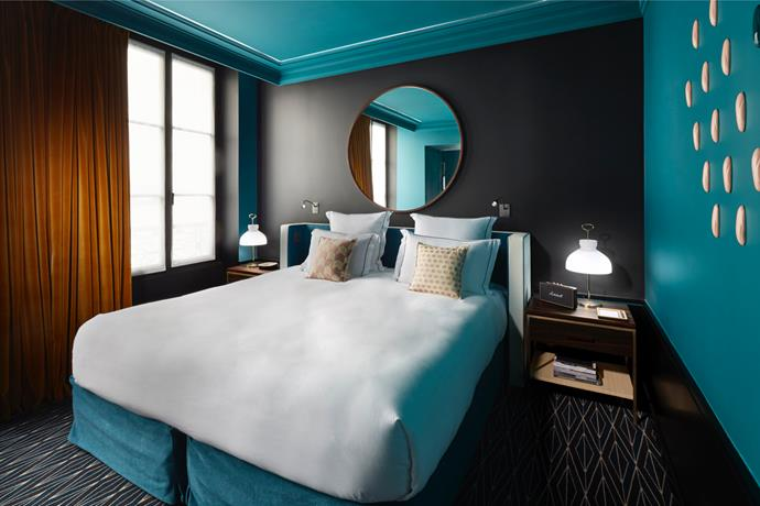 "Le Roch Hotel & Spa made the Condé Nast Traveller's Hot List this year and with good reason! Located along Rue Saint-Roch in Paris, the carefully curated interior of this boutique hotel is the work of Parisian, Sarah Lavoine. It doesn't get more French than this. Take a peek (or book a stay) [here>](https://www.leroch-hotel.com/en/roch-experience|target=""_blank""