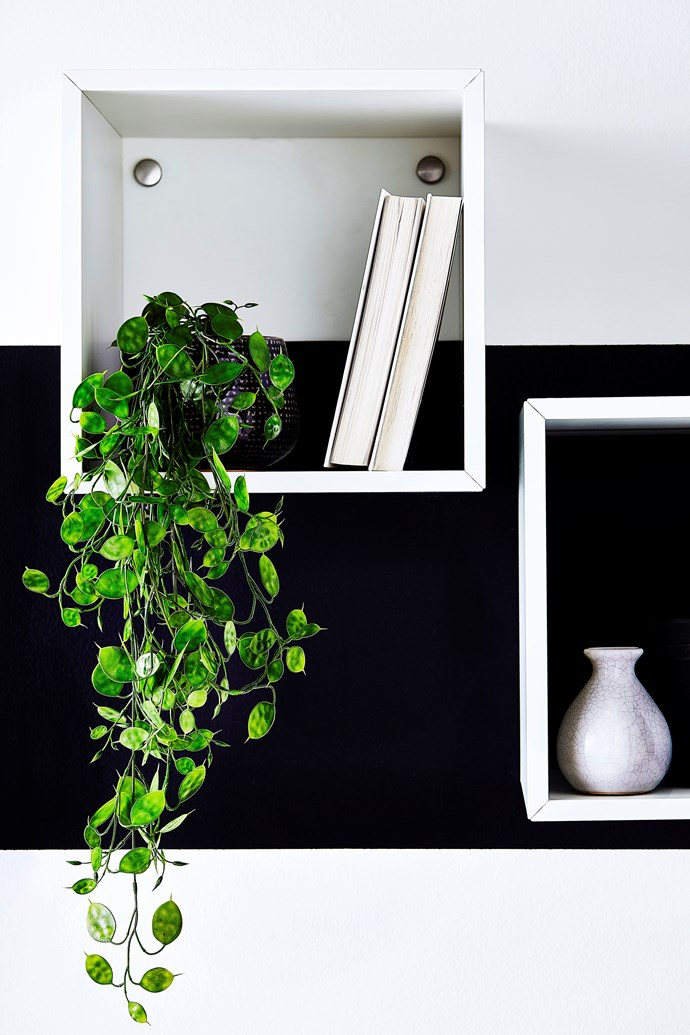 Bring the outdoors in with a touch of greenery.