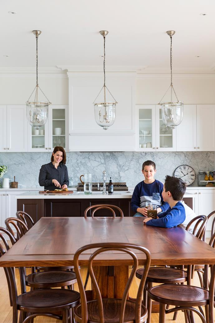 """No [Hamptons kitchen](https://www.homestolove.com.au/classic-hamptons-style-kitchens-6085