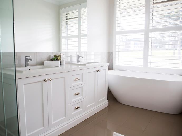 """""""I love freestanding baths – I think they have a very elegant look and they're actually very comfortable."""""""