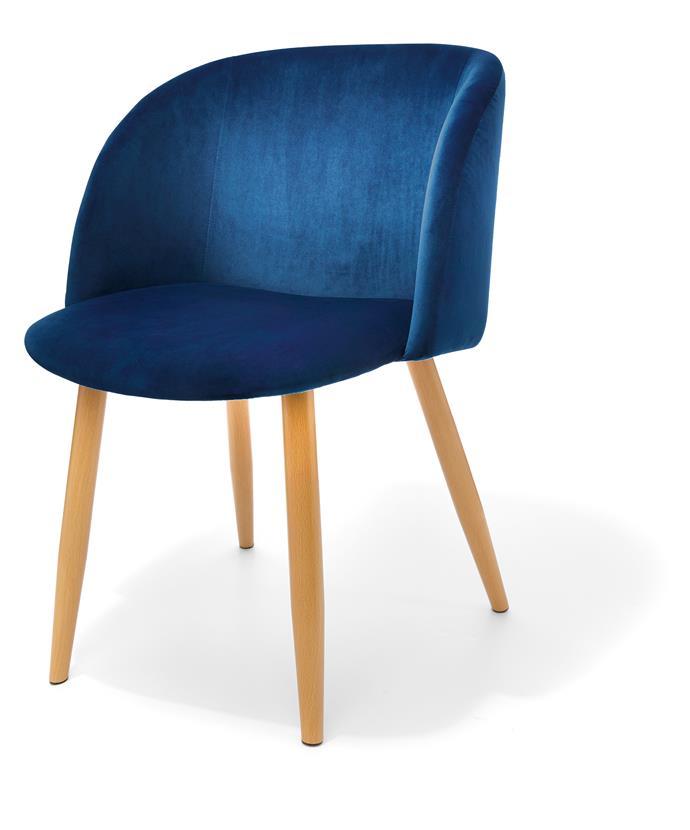 Velvet chair, $39.