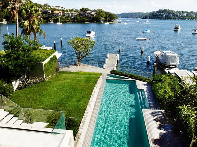 Beautifully designed swimming pools