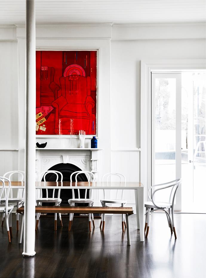 Melbourne home by Rosstan Architects. Photograph by Sharyn Cairns. From *Belle* February/March 2015.