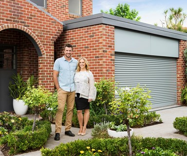 Before and after: Fashionable garage doors boost street appeal
