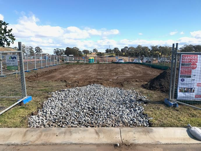 """**AUGUST 14, 2017: SET FOR THE SLAB** <br><br>  With the concrete piering complete, My Ideal House will have it slab poured this week. <br><br>  """"We're on track to start work on the slab this Thursday,"""" says Roderick Petre, NSW Operations Manager for Mirvac.  <br><br>  Before the slab goes down on the site at Crest by Mirvac, in Sydney's Gledswood Hills, the reinforcing steel and waffle pods will be in place. """"We use polystyrene waffle pods in the middle of slab, where you don't need as much strength as at key weight-bearing points,"""" he says. """"This is a standard procedure on our concrete pours.""""  <br><br>  A crew of about six concreters will work quickly to level and perfect the slab once it's poured. """"After that, it'll be left to cure for three or four days,"""" says Petre.  <br><br>  Coming up next, work will continue on the external drainage and electricals that feed into the home.  <br><br>  """"Late next week we're expecting to have our frame delivered, and in the meantime we're continually estimating, sending out purchase orders and briefing subcontractors and suppliers on what's happening."""""""