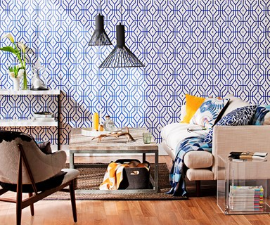 How to use statement wallpaper in your home