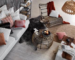 rattan furniture living room
