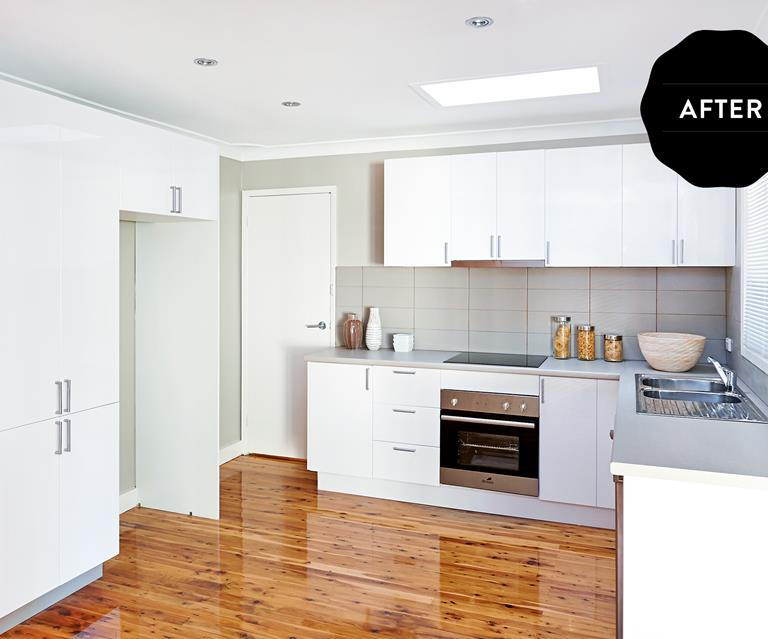 Before And After Contemporary Kitchen Makeover For Just 5000 Homes