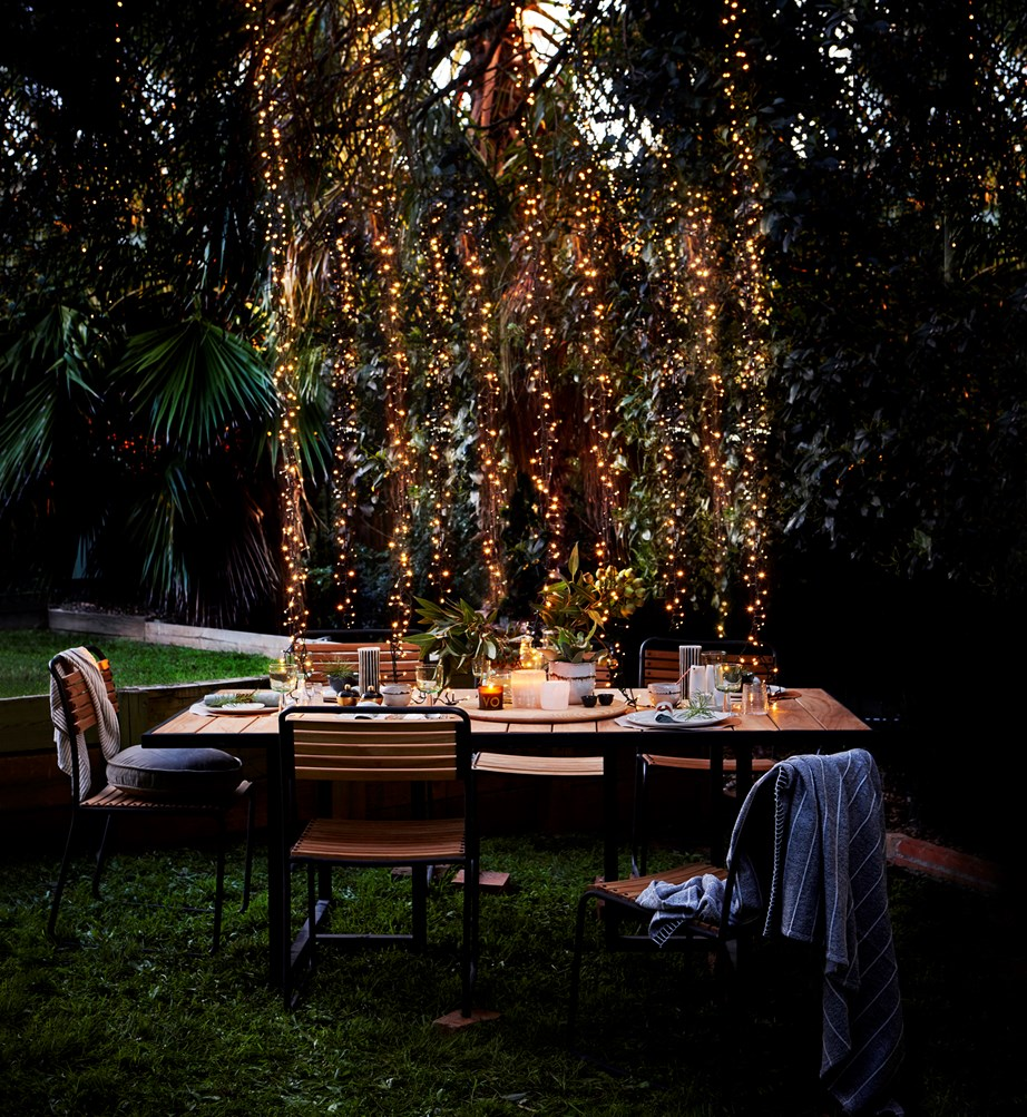 When it comes to outdoor lighting, there's nothing quite like the twinkle of fairy lights to add a little magic to your garden at night time.