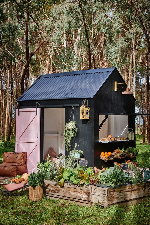"If building is not your bag, there are plenty of prefabricated cubby houses that you can put together with little fuss, like this barn-style design from [Castle + Cubby](https://www.castleandcubby.com.au/|target=""_blank""