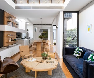 narrow terrace renovation