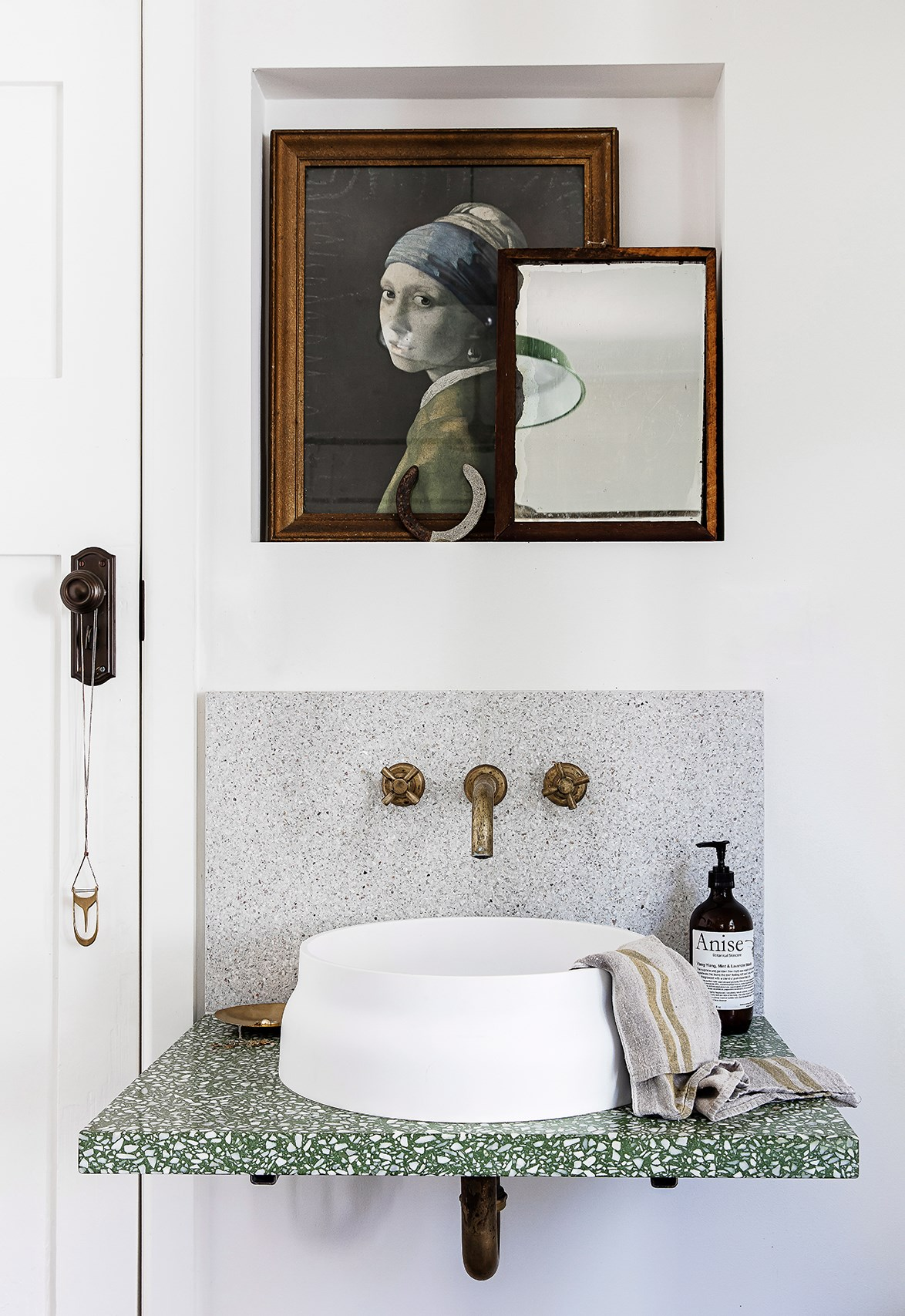 "**Terrazzo** - Marble was finally knocked off its pedestal this year as the most stylish interior surface by an unlikely contender: terrazzo. [Terrazzo has been all over bathrooms](https://www.homestolove.com.au/terrazzo-bathrooms-19359|target=""_blank"") this year, from flooring to walls, splashbacks and work surfaces. *Photo: Maree Homer / bauersyndication.com.au*"