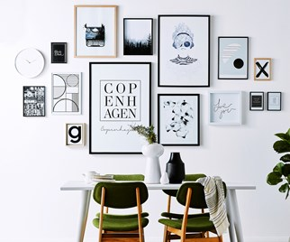 print gallery wall
