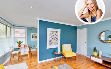Cherie Barber's 7-day budget home renovation under $16K