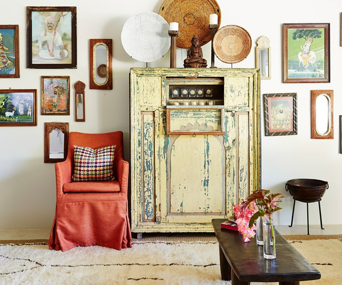 home with antiques