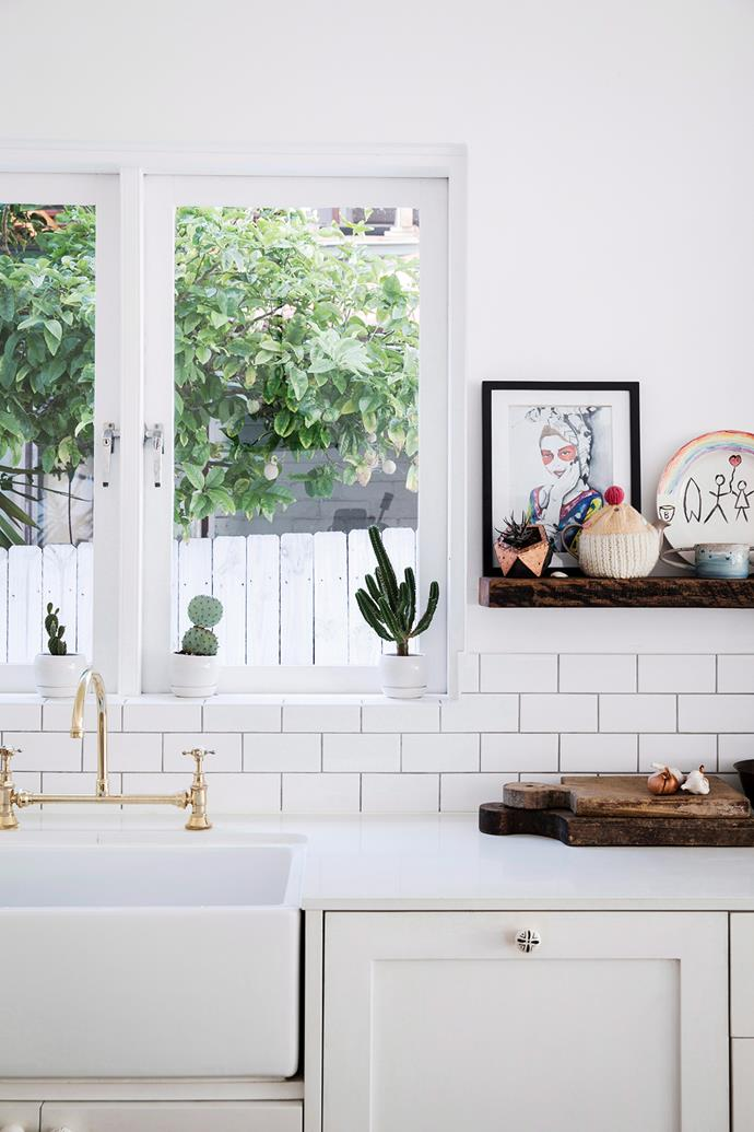 Use a decorative tile, such as a subway tile, in moderation. *Photographer: Chris Warnes/bauersyndication.com.au*