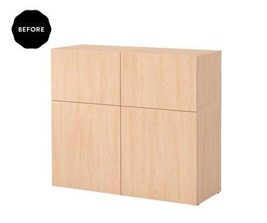 IKEA hack: 1 cupboard 5 ways