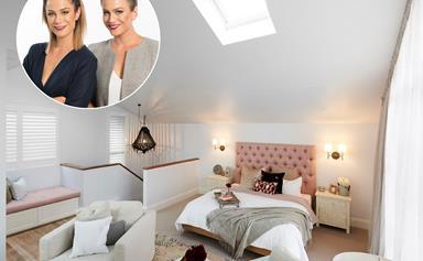 The Block's master bedroom room reveals