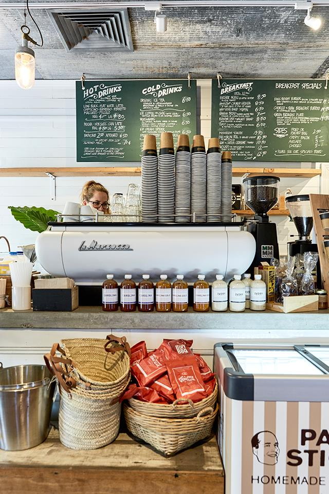 Make sure you order a coffee from the Little Rae Corner Store for a real taste of local life.