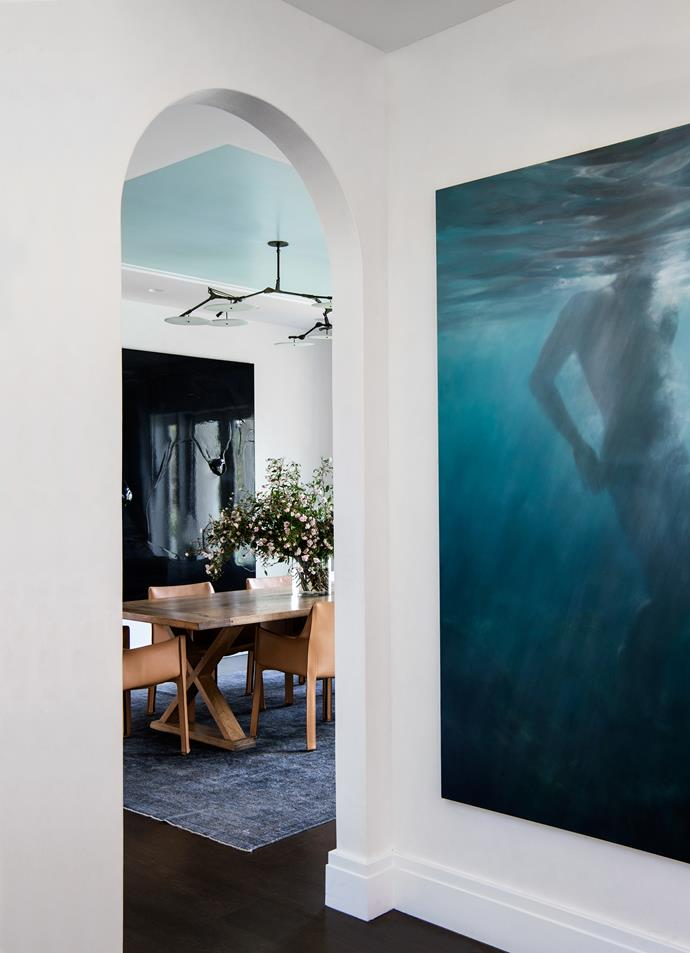 Artworks (from left) by Dale Frank and Martine Emdur.