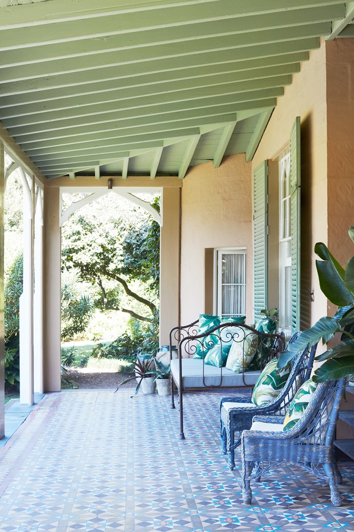 "Laid with classic tessellated tiles, this shaded stretch enjoys ocean views filtered through the trees. In the 1840s, Georgiana Lowe wrote to her mother about the original property, saying, ""We have a beautiful bay to ourselves [Bronte Beach]; we have a waterfall of sixty feet and this runs through a fine valley [Bronte Gully]."""