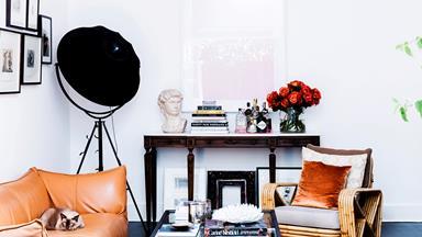 Interior stylist Kirsten Bookallil's beautiful Bondi home