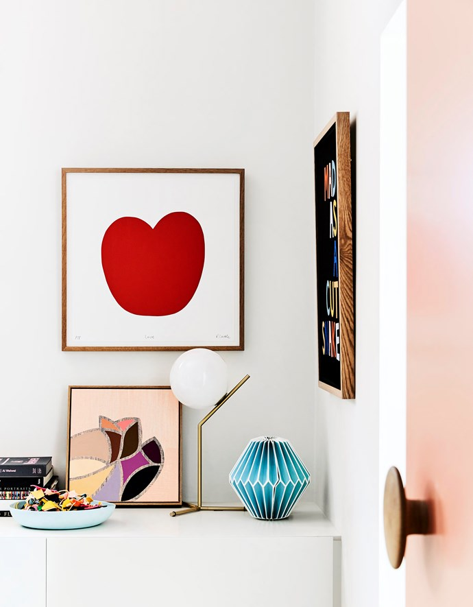"""Designer Rachel Castle has an exceptional eye for detail! Check out the rest of her gorgeous home [here >](http://www.homestolove.com.au/rachel-castles-colourful-and-quirky-sydney-home-4729 target=""""_blank"""")"""