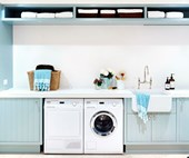 7 pretty & practical laundries