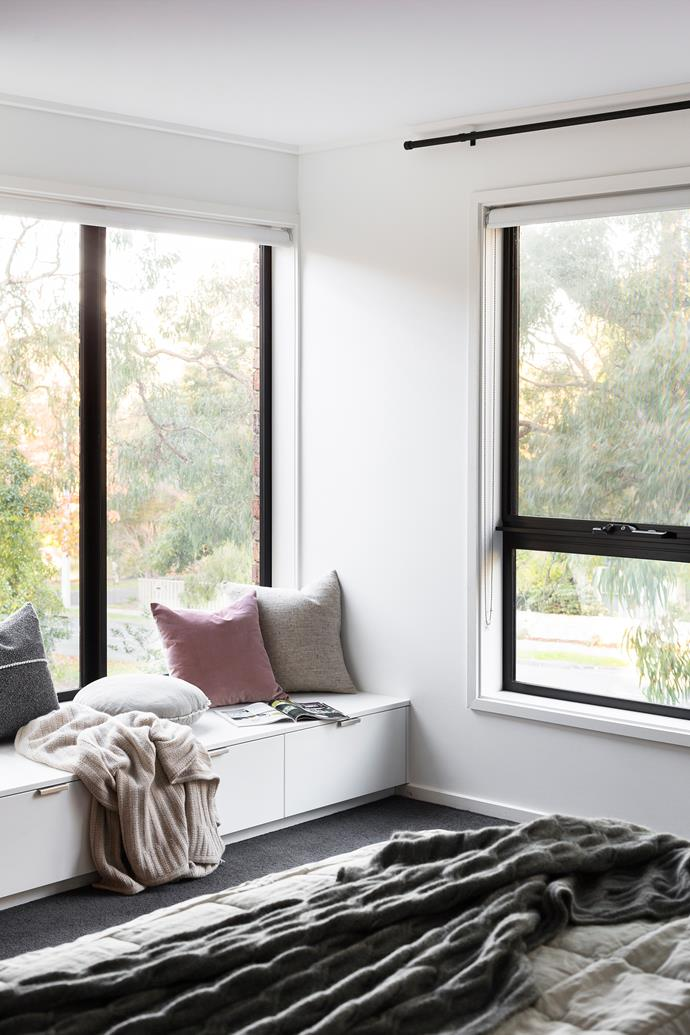 "All the windows were replaced with highly efficient ThermaLine windows from Dowell. The frames are aluminium on the outside and timber inside. ""This 'thermal break' stops cool air from entering the home in winter and minimises heat transfer in summer,"" says Sven."