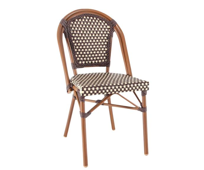 "Parisian chair in Chocolate/Cream, $99, from [Cafe Chairs Sydney](http://cafechairssydney.com.au/|target=""_blank""