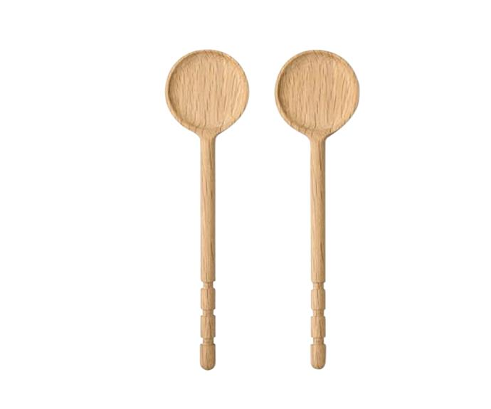 "Flynn salad servers, $29.95 per pair, from [Country Road](https://www.countryroad.com.au|target=""_blank""