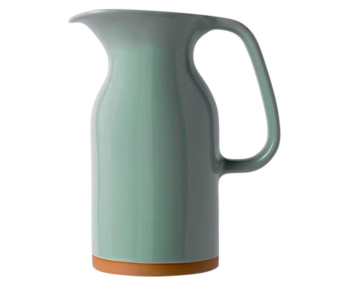 "Royal Doulton Barber & Osgerby Olio jug in Duck Green, medium, $59.95, from [Everten](http://www.everten.com.au/|target=""_blank""