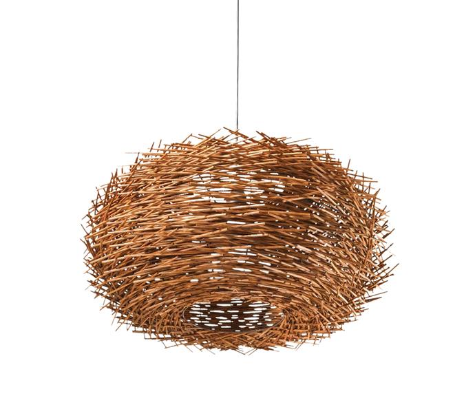 "By Designs The Nest pendant light, $99, from [Temple & Webster](https://www.templeandwebster.com.au/|target=""_blank""