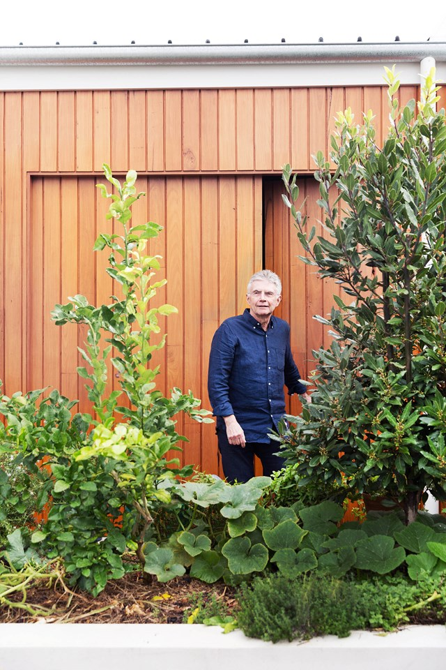 """We use something picked from the garden in just about every meal,"" says John."