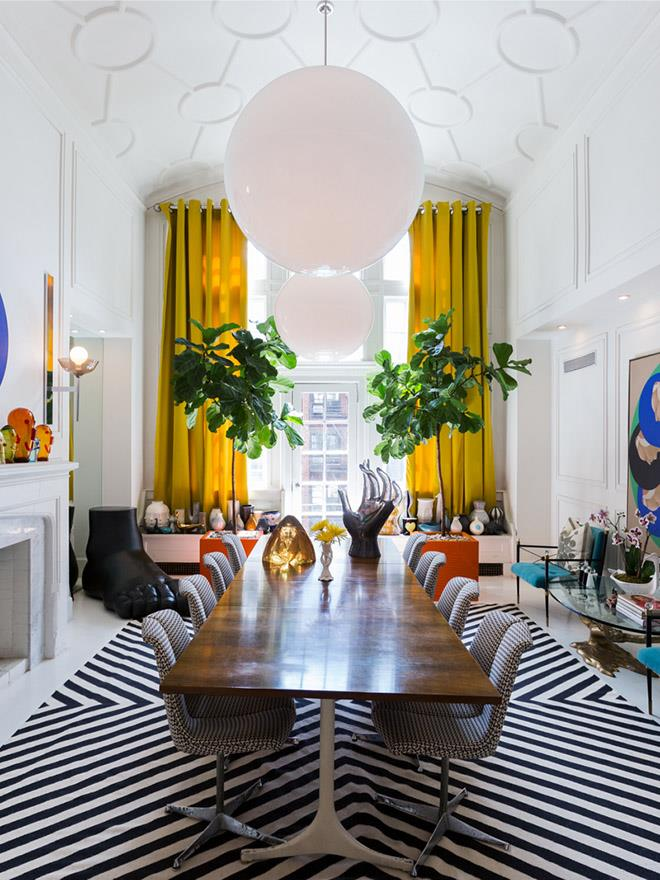New York home by Jonathan Adler. Photograph by Luis Garcia. From *Belle* November 2015.
