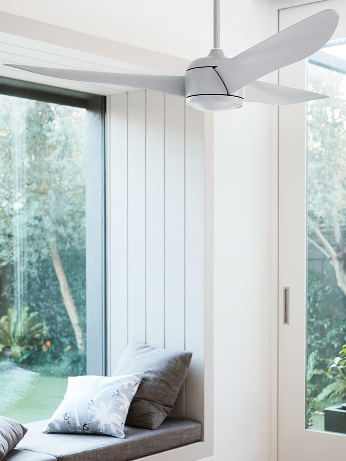 "Nordic 142cm Fan Only in Grey, $495, at [Beacon Lighting](https://www.beaconlighting.com.au/nordic-142cm-fan-only-in-grey.html|target=""_blank""