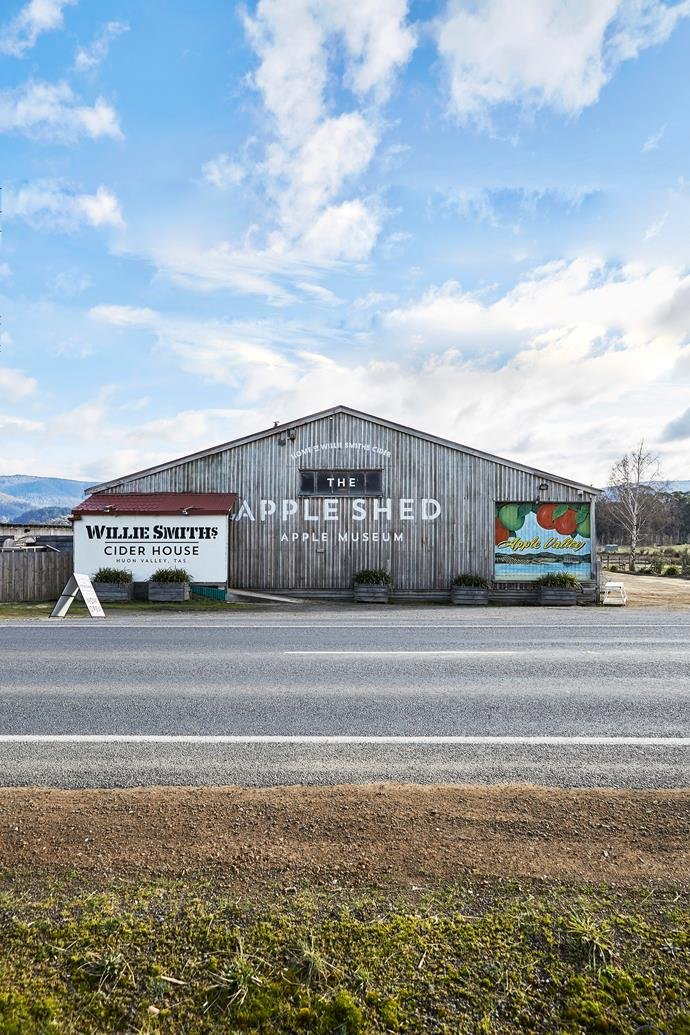 Willie Smith's Apple Shed is known far and wide for its apple cider.